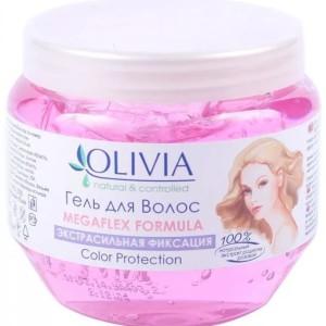 Оливиа гель для укладки волос экстрасильная фиксация для женщин (Olivia)250 мл.