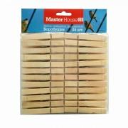 Прищепки деревянные Воробушки набор, 24 шт