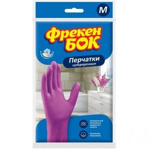 Фрекен Бок плотные перчатки, хозяйственные, размер M