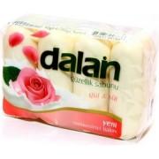 Мыло Далан туалетное Роза и молоко (4х90 гр) Dalan Beauty,Турция