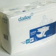 Подгузники для взрослых Dailee Super Large (L) 30 шт (Дейли) Россия