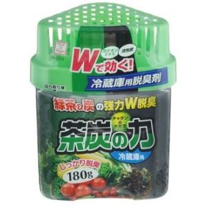 """Поглотитель запахов двойной для холодильника """"Сила угля и зеленого чая"""", 180 г"""