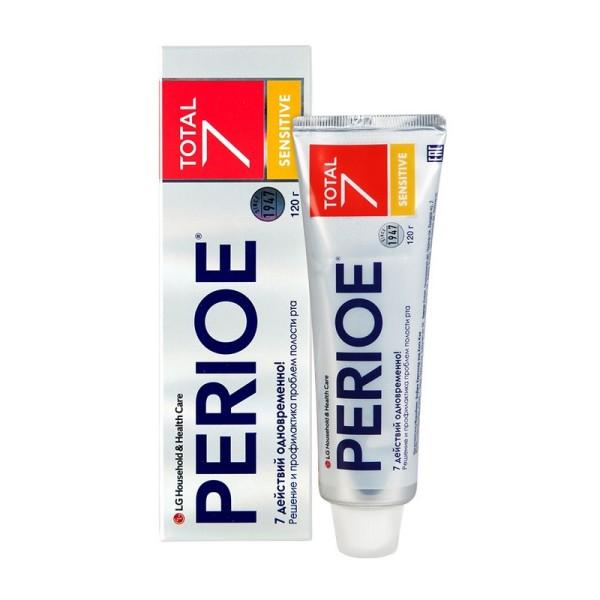 Sensitive Total 7 Perioe Зубная паста комплексного действия для чувствительных зубов 120 г, Корея