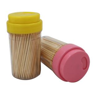 Зубочистки бамбуковые тубус 250 шт, АК