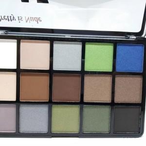 Студийный макияж Ла Роса тени 15 цветов (LA ROSA Colors Make Up Studio) №С