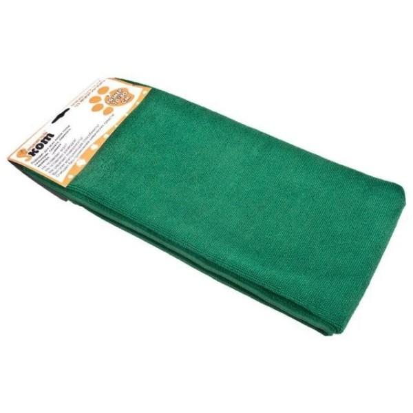 Рыжий кот тряпка для пола из микрофибры М-02F-L, зеленый 70*80см