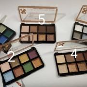 Тени Ла Роса Студийный макияж для век 8 цветов (La Rosa Studio makeup)