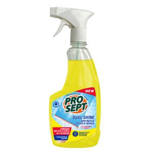 Просепт антистатический эффект средство для мытья стекол и зеркал, (Prosept Optic Shine) 500 мл
