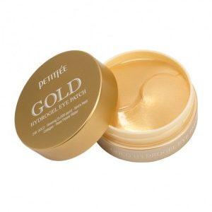 Petitfee Гидрогелевые патчи для глаз с золотом GOLD EGF PREMIUM, 60шт