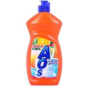 Средство АОС для мытья посуды Апельсин и мята (AOS) 450 мл