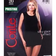 Колготки Контэ престиж женские (Conte elegant Prestige) 20 den, размер 3, grafit
