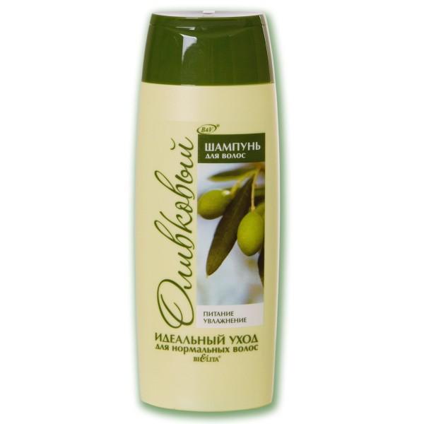 Белита Шампунь Оливковый для нормальных волос Питание и Увлажнение (Belita Vitex) 500 мл