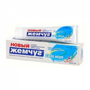 Новый Жемчуг Сила моря зубная паста, 100 мл