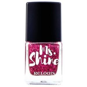 Лак Relouis MS. SHINE для ногтей от Релуи тон 05 SPARKLY RUBY 6,2 мл