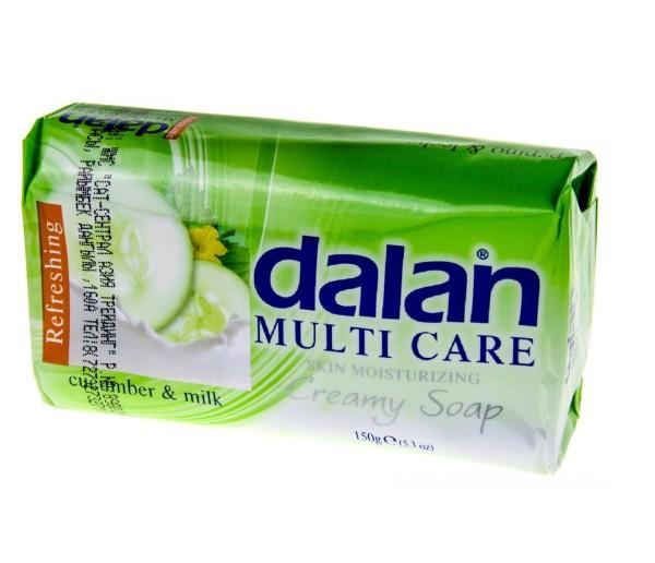 Далан мыло ОГУРЕЦ И МОЛОКО (DALAN MULTI CARE) 150 гр