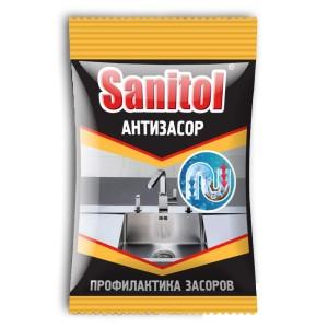 Санитол Антизасор для чистки труб «Sanitol» 90 гр