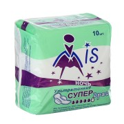 Прокладки Мис супер драй ультратонкие, 5 капель (ночь) MIS
