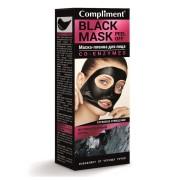 Маска пленка Комплемент коэнзим для лица BLACK MASK CO-ENZYMES, 80мл. Compliment