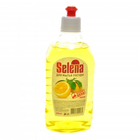 Селена для мытья посуды средство Лимон Selena 500 мл