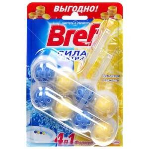 Бреф Сила актив подвесные шарики для унитаза (BREF Lemon) 2шт х50 г