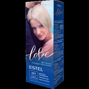 Эстель Love Стойкая крем-краска для волос (10/1) Estel Блондин серебристый