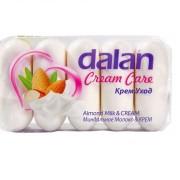 Dalan Крем уход туалетное мыло Миндальное молочко Далан 4+1*70 г.