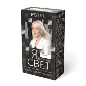 Эстель интенсивный осветлитель для волос Я выбираю свет 11/06 серебристый, Estel