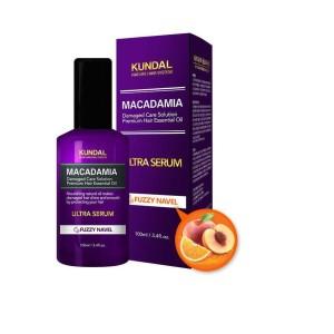 "Сыворотка для волос Кандл ""Makadamia Ultra Serum"" Kundal FUZZY NAVEL, 100 мл Корея"