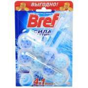 Шарики подвесные Бреф для унитаза сила актив океанский бриз (Bref) 2шт х50 г
