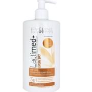Мягкий освежающий гель Eveline для интимной гигиены экстракт ромашки LACTIMED+, 250мл Эвелин