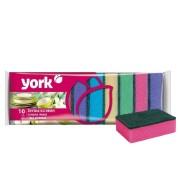 Йорк Джамбо губки для посуды JUMBO York 10 шт