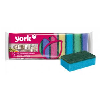 York Миди губки кухонные Йорк 10 шт
