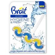 "Блок Brait туалетный ""Oceanic"", двухфазный Бреит, 45 г"