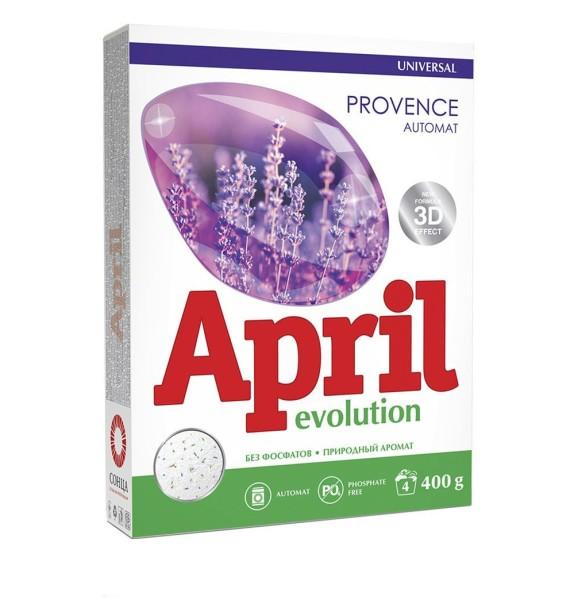 April универсальный порошок автомат Evolution Provence Сонца 400 г