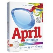April стиральный порошок автомат Evolution Color protection 400