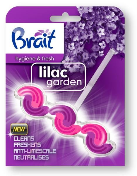Brait двухфазный блок ободка для унитаза Lilac garden Бреит, 45 г