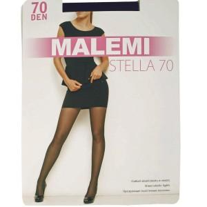 Колготки Malemi женские Stella 70 цвет чёрный (nero), Малеми р 5-xl
