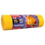 Мешки Paclan для мусора с ушками Multitop Aroma, Паклан 35л 20 шт