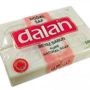Далан хозяйственное мыло туалетное, белое (Dalan Beyaz Sabun) 4* 125 г