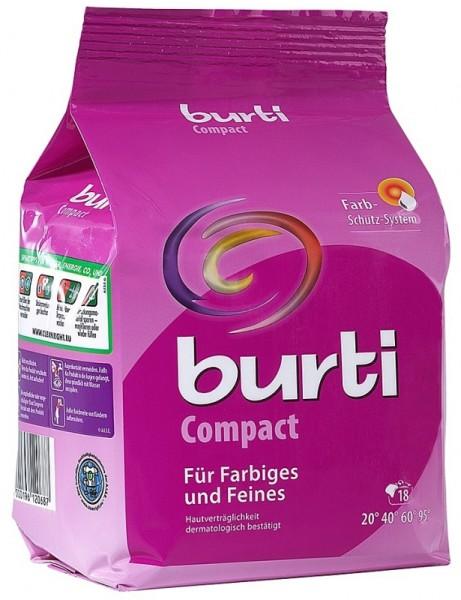 Порошок Burti для стирки цветного и тонкого белья «Compact» Бурти 1,5 кг