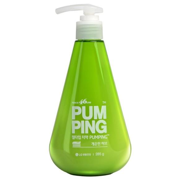 Perioe освежающая зубная паста Breath Care Pumping Toothpaste 285 г