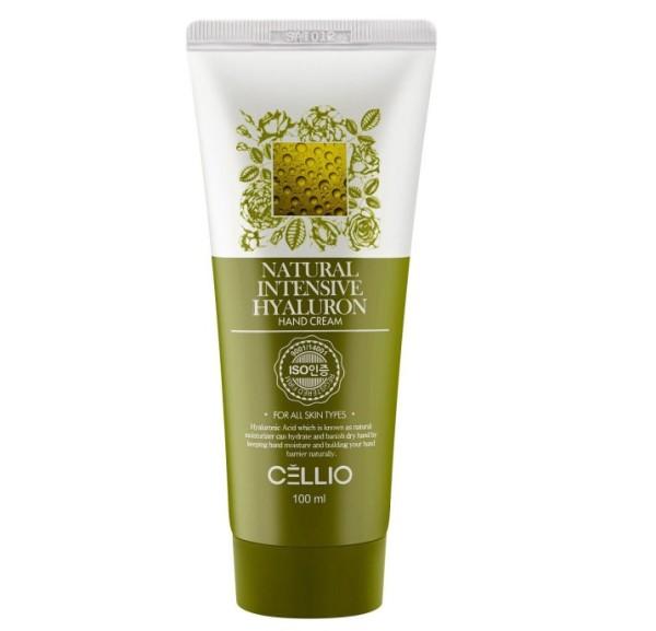 Селлио крем для рук с гиаллуроновой кислотой «INTENSIVE HYALURON» CELLIO, 100 мл