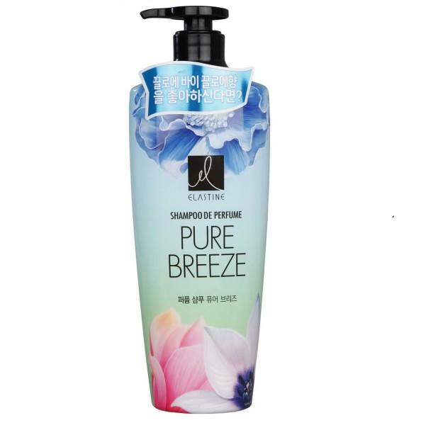 Шампунь парфюмированный Elastine Pure Breeze для всех типов волос 600мл