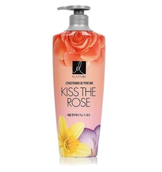 Elastine парфюмированный кондиционер Kiss The Rose для всех типов волос 600 мл.