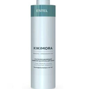 Эстель KIKIMORA ультраувлажняющий торфяной шампунь для волос Estel, 1000 мл
