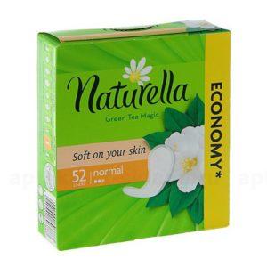 Натурелла ежедневные прокладки ароматизированные NATURELLA (с ароматом зеленого чая), 52 шт