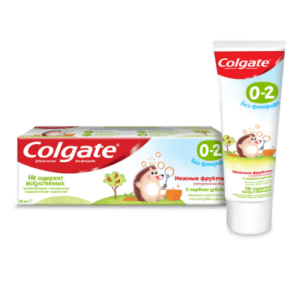 Колгейт Нежные фрукты зубная паста Colgate 0-2 лет 40 мл