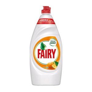 Фейри Апельсин и лимоннник средство для мытья посуды Fairy 900 мл.