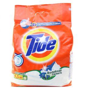 Тайд Стиральный порошок Альпийская свежесть Tide 4 .5 кг