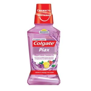 Колгейт Ополаскиватель полости рта Plax Фруктовая Свежесть, антибактериальный, Colgate 250 мл